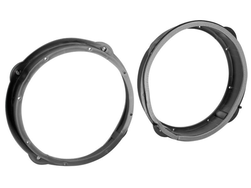 Adaptador altavoces anillos set para Seat Leon 5f a partir de 11//2012 200mm puertas delante