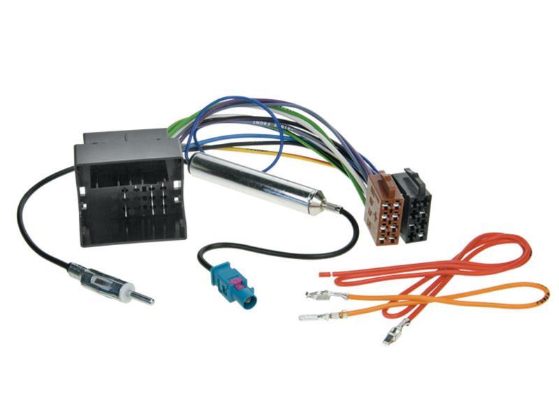 Pioneer-Radio-DAB-2DIN-mit-Antenne-fuer-VW-Touran-1T-ab-02-2003-piano-black