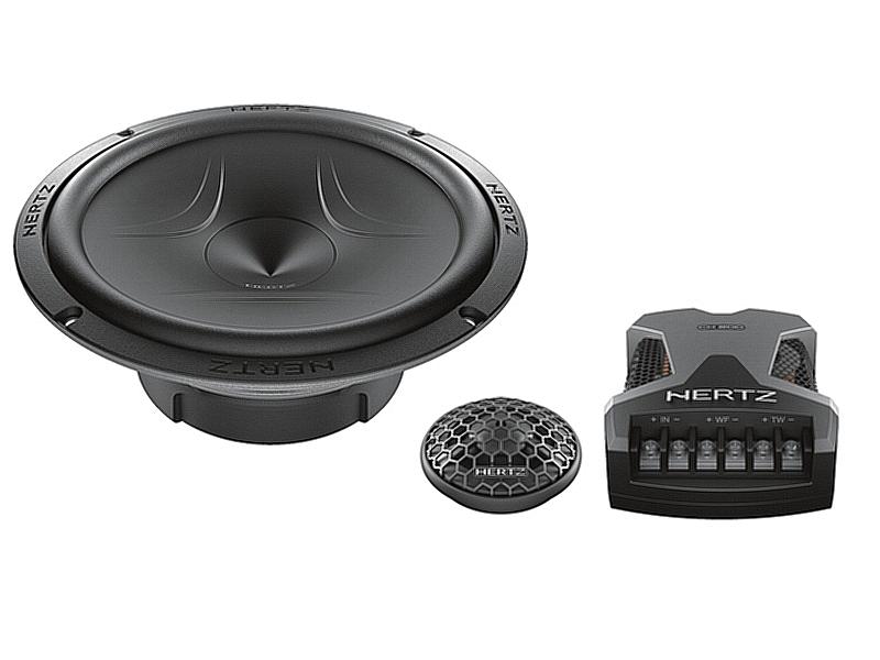 Hertz-Lautsprecher-ESK165-5-600W-Kompo-16-5cm-fuer-VW-Polo-6R-4-5-tuerig-2009-2014