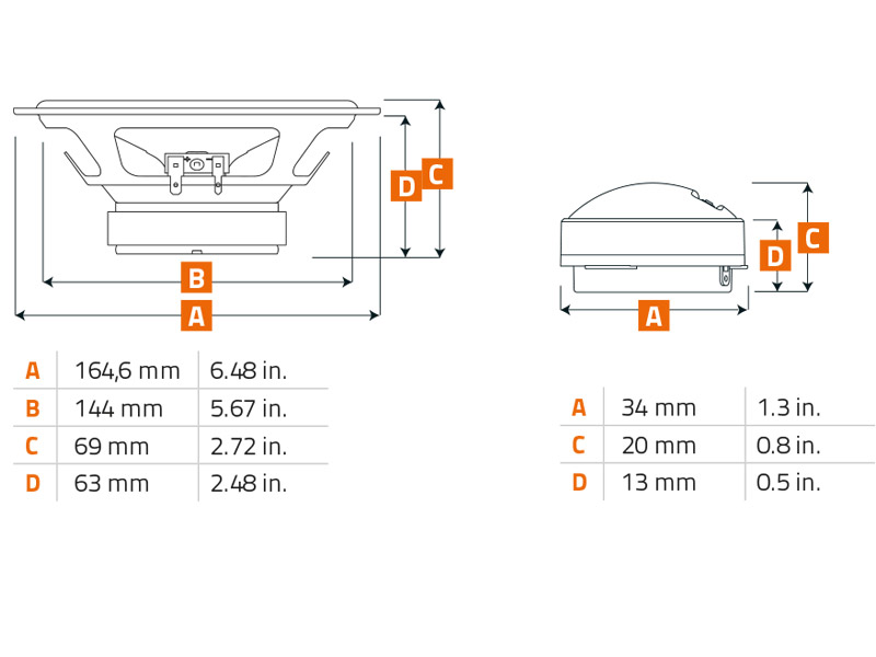 Hertz-Lautsprecher-K165-600W-Kompo-16-5-cm-fuer-Hyundai-i40-VF-ab-2011