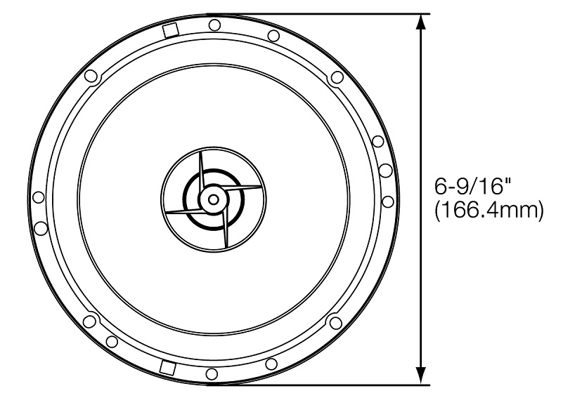 JBL-Lautsprecher-STAGE602E-270W-Koax-fuer-Mercedes-GLK-Klasse-X204-ab-08