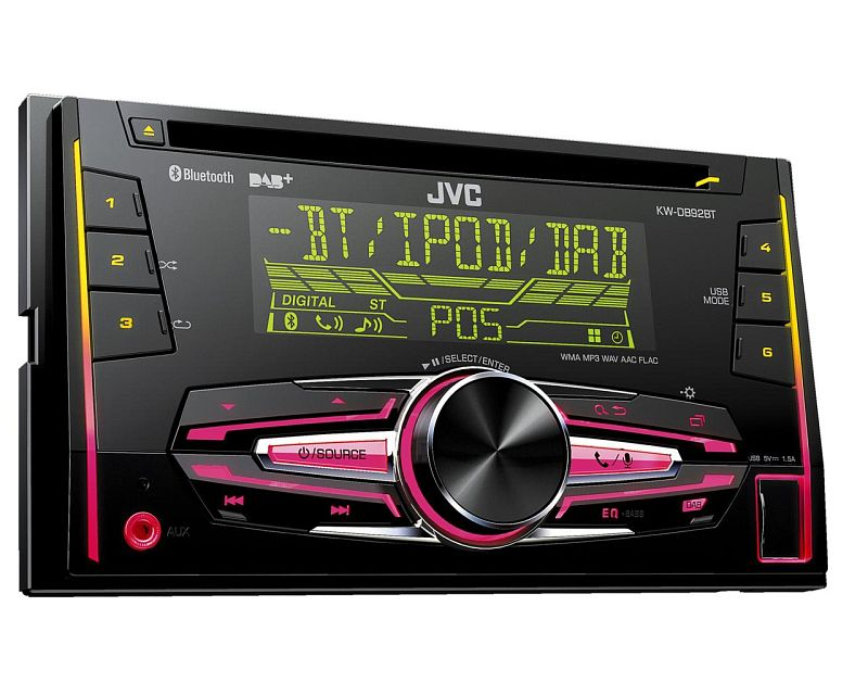 jvc auto radio dab 2 din antenne f r lancia musa 350 2004. Black Bedroom Furniture Sets. Home Design Ideas