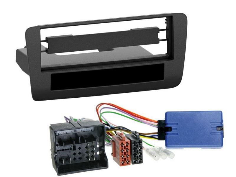 Doppel 2-DIN Radioblende+Aktivsystem Adapter Adapterkabel für Audi A3 2003-2012