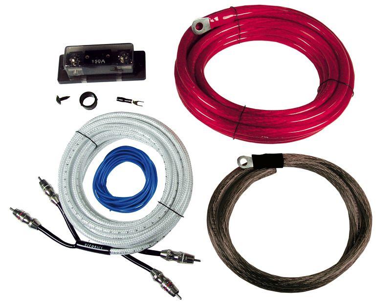 Hifonics HF 35 WK HIGH-END Kabelset für Verstärker Wirekit Anschluss Set />