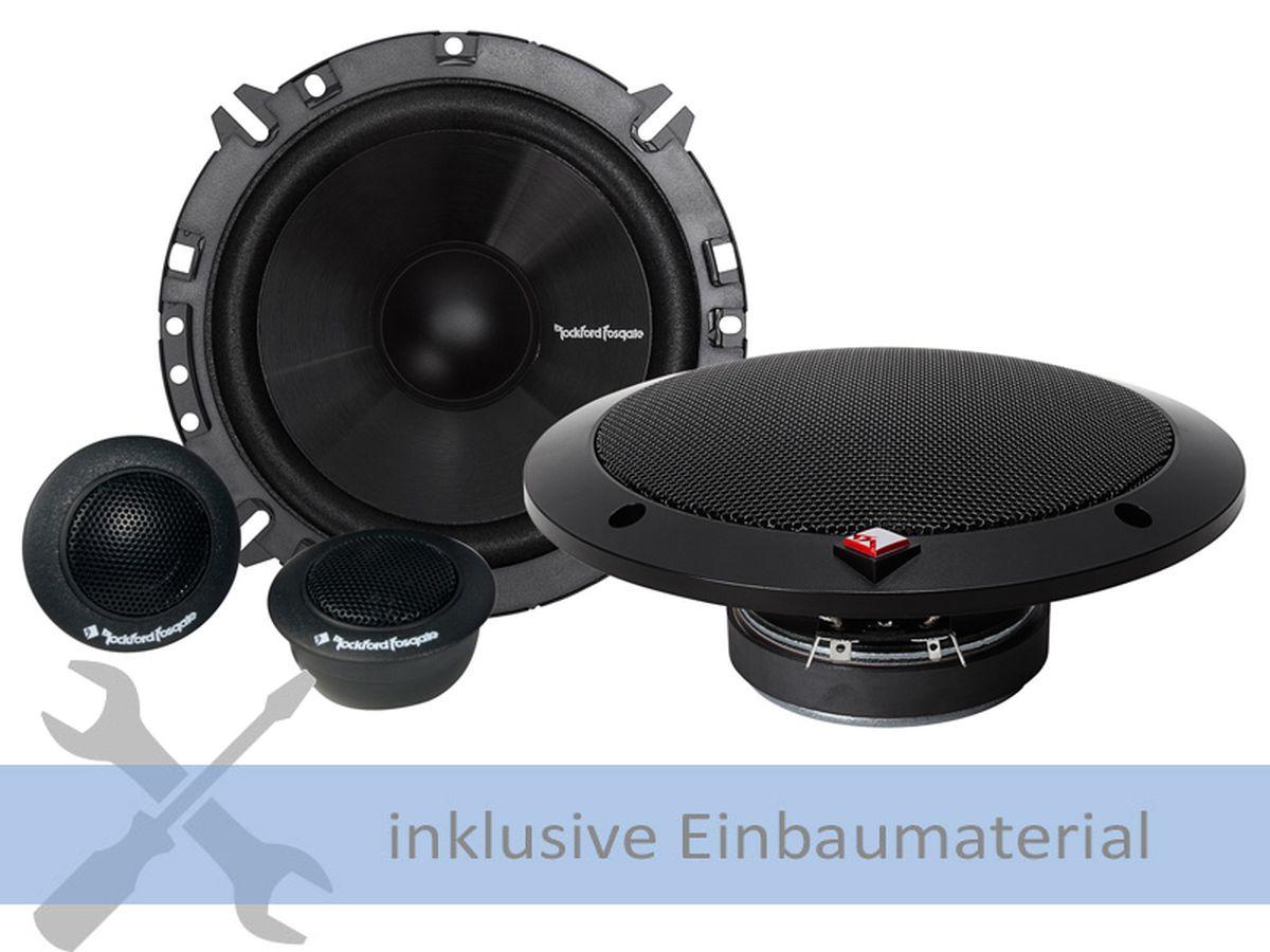 Rockford-Lautsprecher-R165S-160-Watt-Kompo-fuer-Nissan-Primastar-4-F4-J4-hinten
