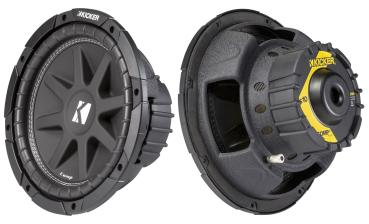 "Kicker 10"" ( 25 cm ) Comp 43C104 Subwoofer 500 Watt"