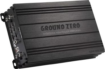 Ground Zero GZHA MINI ONE 1 Kanal Mini Verstärker 630 Watt RMS