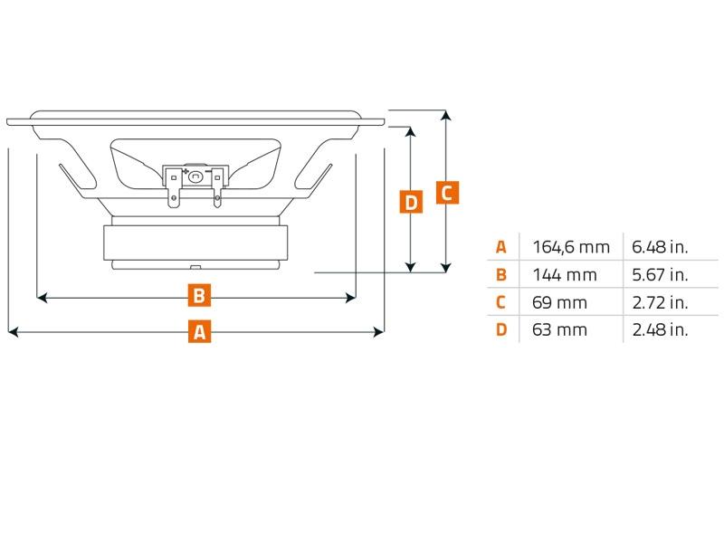 EHO2003 CarHifi Onlineshop | Hertz Uno X130 Lautsprecher 13 cm Koax ...